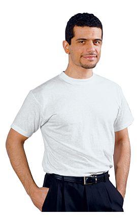 Maglietta Girocollo Bianca