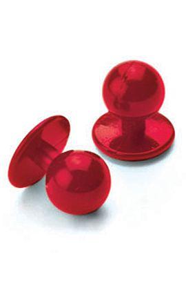 Confezione 10 Bottoni a pallina antipanico - Isacco