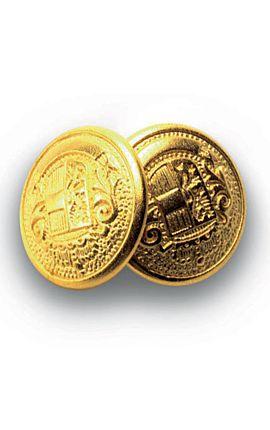 Bottoni gemello Oro + Colore - Isacco